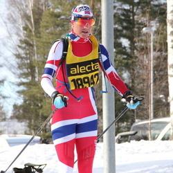 Skiing 90 km - Hilde Hoff (18942)