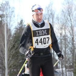 Skiing 90 km - Henrik Axelsson (4407)