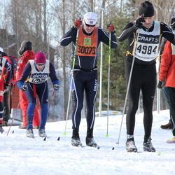Skiing 90 km - Håkan Nykvist (4984), Anders Rudolfsson (30073)