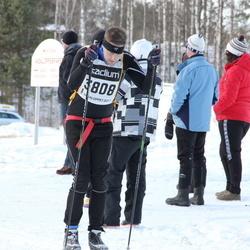 Skiing 90 km - Henrik Jansson (3808)