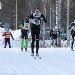 Skiing 90 km - Arve Lid (3135), Gunnar Remøe (4133)