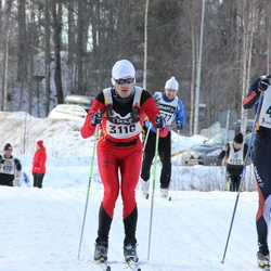 Skiing 90 km - Simon Nilsson (3116), David Martinsson (4311)