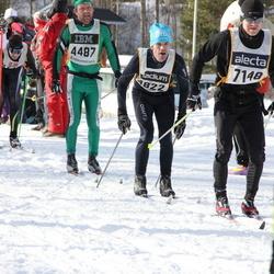 Skiing 90 km - Curt Eliasson (4822), Henrik Bohlin (7148)
