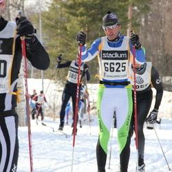 Skiing 90 km - Matthias Busch (4400), Alessandro Deflorian (6625)