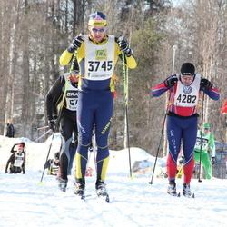 Skiing 90 km - Christian Olgerfelt (3745), Jonny Persson (4282)