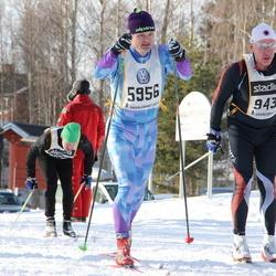 Skiing 90 km - Anders Löwgren (5956), Daniel Bylock (9435)