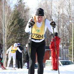 Skiing 90 km - Åsa Bäck (17504)