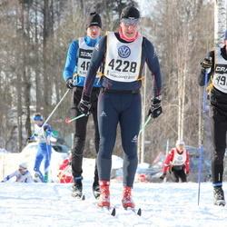Skiing 90 km - Arild Frode Hansen (4228), Anders Moverare (4905)