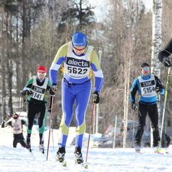 Skiing 90 km - Erik Nilsson (5622), Adrian Løvold (8933)