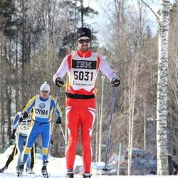 Skiing 90 km - Alex Bergenudd (5031), Tom Rantanen (12084)