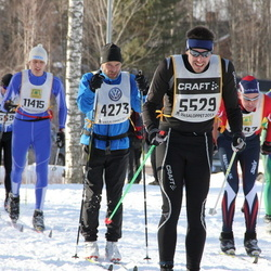 Skiing 90 km - Carl Håkon Svenning (4273), Anders Richardsson (5529), Robert Pettersson (11415)