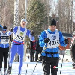 Skiing 90 km - Carl Håkon Svenning (4273), Robert Pettersson (11415)