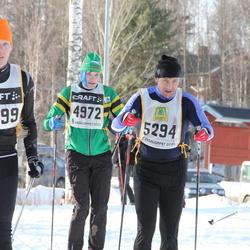 Skiing 90 km - Henrik Svaland Aas (4972), Håkan Camper (5294), Ove Alenius (5599)