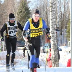 Skiing 90 km - Fredrik Mattson (8746), Agnes Wredenberg (17742)
