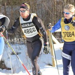 Skiing 90 km - Janne Juusola (4866), Monika Lund (17084)