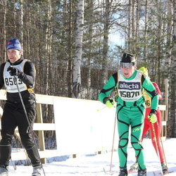 Skiing 90 km - Kenneth Svedjesten (8583), Artem Svintsitskiy (15870)