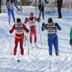 Skiing 90 km - Helge Danielsen (4761), Arild Nygaard (5618), Per Börjesson (6721), Olle Lundqvist (6844)