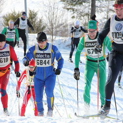 Skiing 90 km - Arild Nygaard (5618), Olle Lundqvist (6844)
