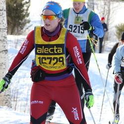 Skiing 90 km - Jenni Hesselberg Indby (16729)