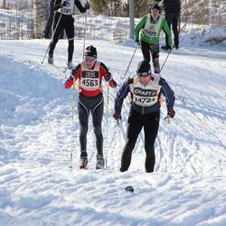 Suusatamine 90 km - Arne Opdahl (4563), Magnus Hallblom (14724)