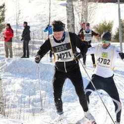 Skiing 90 km - David Klint (4702), Erik Ohlén (14271)