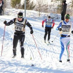 Skiing 90 km - Viljar Teder (6816), Alberto Ghezzi (6869)