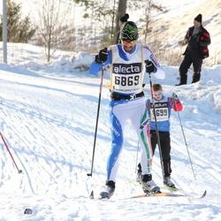 Skiing 90 km - Alberto Ghezzi (6869)