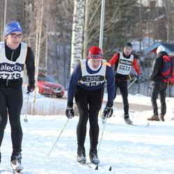 Skiing 90 km - Martin Andersson (5194), Alexander Widén (5739)