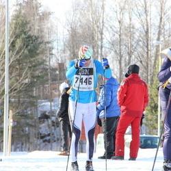 Skiing 90 km - Dennis Eriksson (7446)