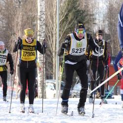 Skiing 90 km - Mats Jirebeck (5235), Amy Rankka (17908)