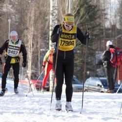 Skiing 90 km - Amy Rankka (17908)