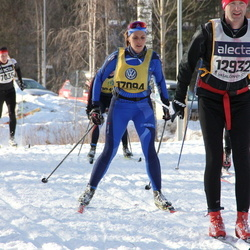 Skiing 90 km - Peter Lindberg (6746), Elin Magdalena Blom (17094)