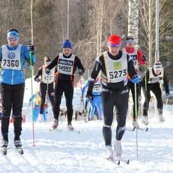 Skiing 90 km - Henrik Wallin (5273), Erik Johansson (7360)