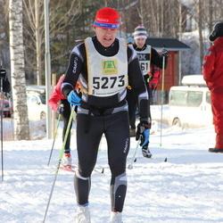 Skiing 90 km - Henrik Wallin (5273)
