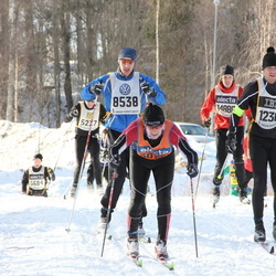 Skiing 90 km - Michael Nabb (8538), Christian Merup (12365)