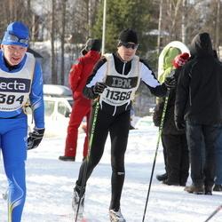 Skiing 90 km - Börje Svensson (8384), Robert Franzen (11368)
