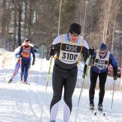 Skiing 90 km - Adrien Aubry (3100)
