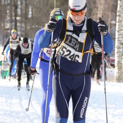 Skiing 90 km - Espen Vikanes (15246)