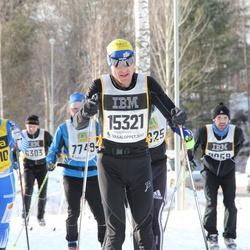 Skiing 90 km - Arthur Decurtins (15321), Lisa Skoglund (16710)