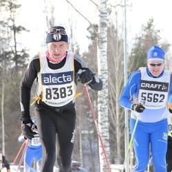 Skiing 90 km - Samuel Henriksson (5562), Börje Svensson (8384)