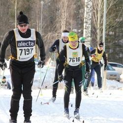 Skiing 90 km - Åke Lindkvist (7197), Peter Schnelzer (7618)