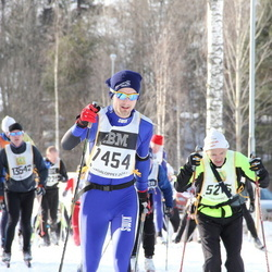 Skiing 90 km - Emil Lundgren (7454)