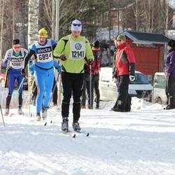 Skiing 90 km - Pavels Kirilovskis (6894), Henry Fröcklin (7710), Daniel Sköldberg (12141)