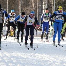 Skiing 90 km - Pavels Kirilovskis (6894), Henry Fröcklin (7710), Lars Jonsson (12882)