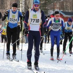 Skiing 90 km - Per Seltborg (6524), Henry Fröcklin (7710), Lars Jonsson (12882)