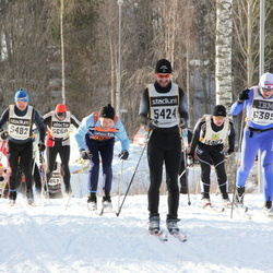 Skiing 90 km - Stefan Adolfsson (5424), Jimmy Blomgren (5482), Espen Killingmo (6389)