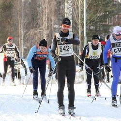 Skiing 90 km - Stefan Adolfsson (5424), Jimmy Blomgren (5482), Espen Killingmo (6389), Conny Eriksson (14482)