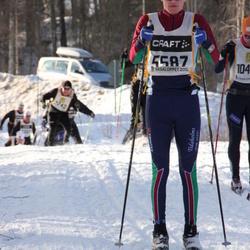 Skiing 90 km - Adam Stadig (5587)