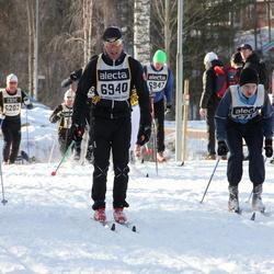 Skiing 90 km - Enrico Joos (6940), Daniel Gavelin (8705)