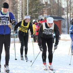 Skiing 90 km - Axel Kristoffersen (6897), Mikael Hallkvist (8067)